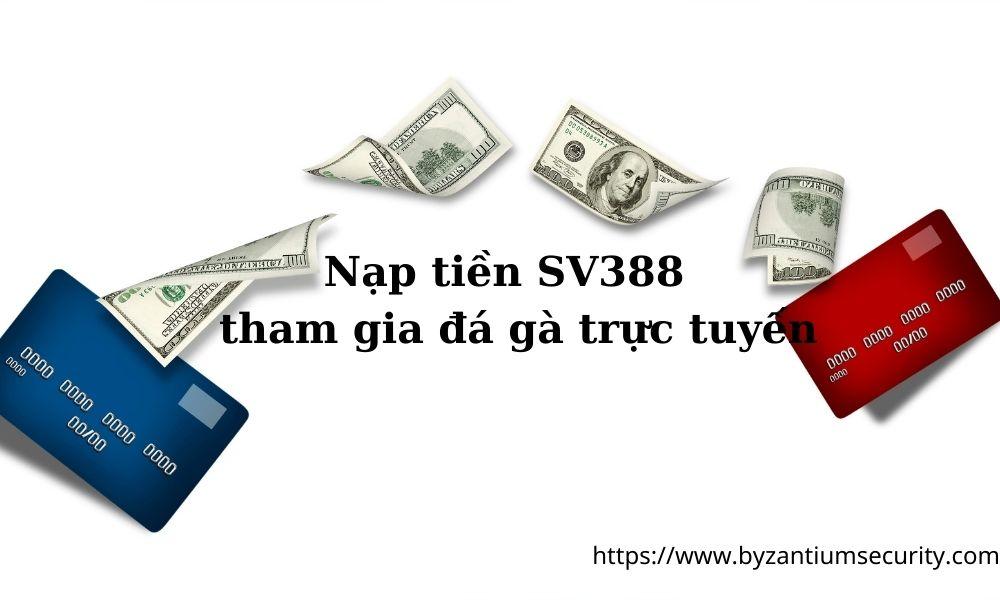 Hướng dẫn nạp tiền SV388
